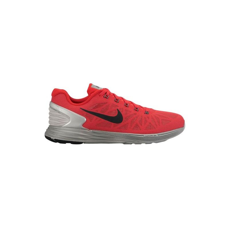 huge selection of 27a91 7a230 Nike LunarGlide 6 Flash - Men s - Running - Shoes - Action Red Black  ...