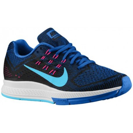 watch 3ab5d 0f67e Nike Zoom Structure 18 - Women's - Running - Shoes - Lyon Blue/Black/Pink  Pow/Clearwater-sku:83737400