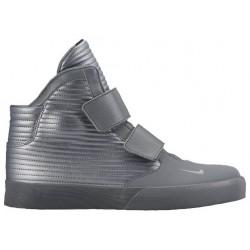 Nike Flystepper 2K3 - Men's - Basketball - Shoes - Cool Grey/Metallic Cool Grey/Metallic Cool Grey-sku:44576098