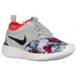 Nike Juvenate - Women's - Running - Shoes - Light Silver/Black/Total Crimson/Dark Turquoise-sku:22781016