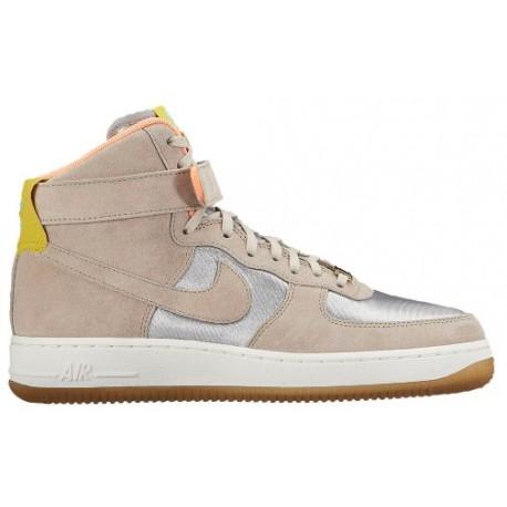 reputable site d5fb4 b5823 Nike Air Force 1 High - Women's - Basketball - Shoes - Metallic  Silver/String-sku:54440002