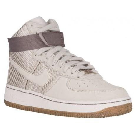 super popular 107bc 8a4b0 Nike Air Force 1 High - Women's - Basketball - Shoes - Light Bone/Light  Bone-sku:54440004
