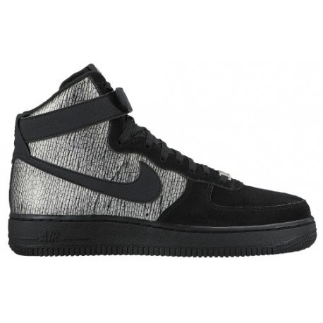 official photos 12923 9d5bc Nike Air Force 1 High - Women's - Basketball - Shoes - Metallic  Silver/Black-sku:54440003