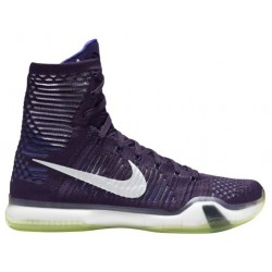 Nike Kobe X Elite - Men's - Basketball - Shoes - Kobe Bryant - Ink/Persian Violet/Reflective Silver-sku:18763505