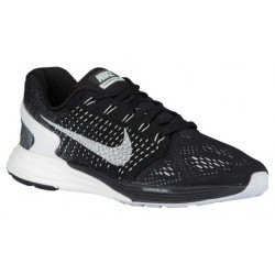 Nike Lunarglide 7 - Women's - Running - Shoes - Black/Anthracite/Wolf Grey/Summit White-sku:7356001
