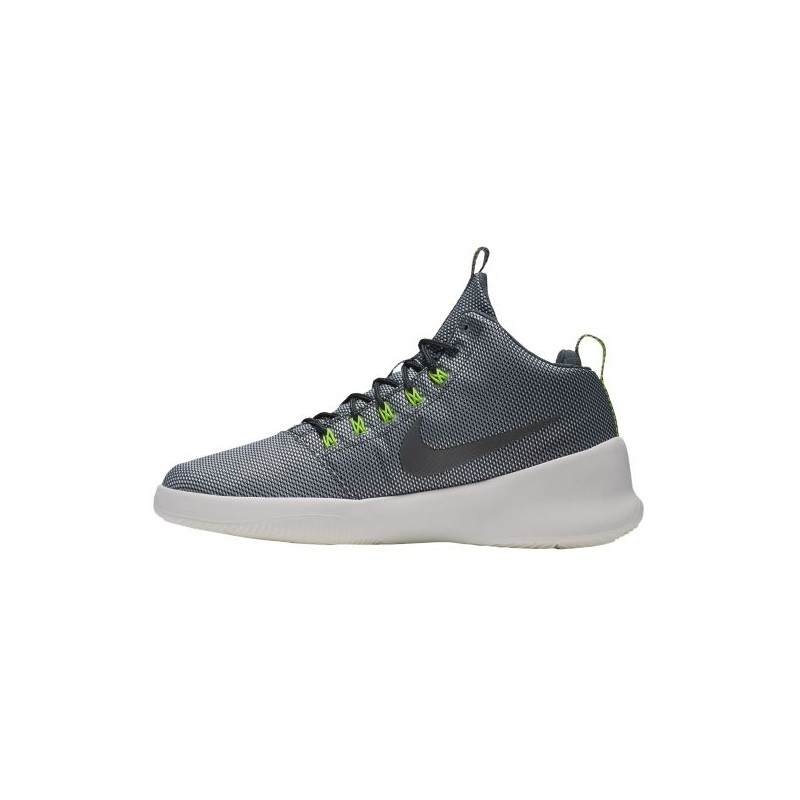 ... Nike Hyperfr3sh Mid - Men's - Basketball - Shoes - Wolf Grey/Black/Volt  ...