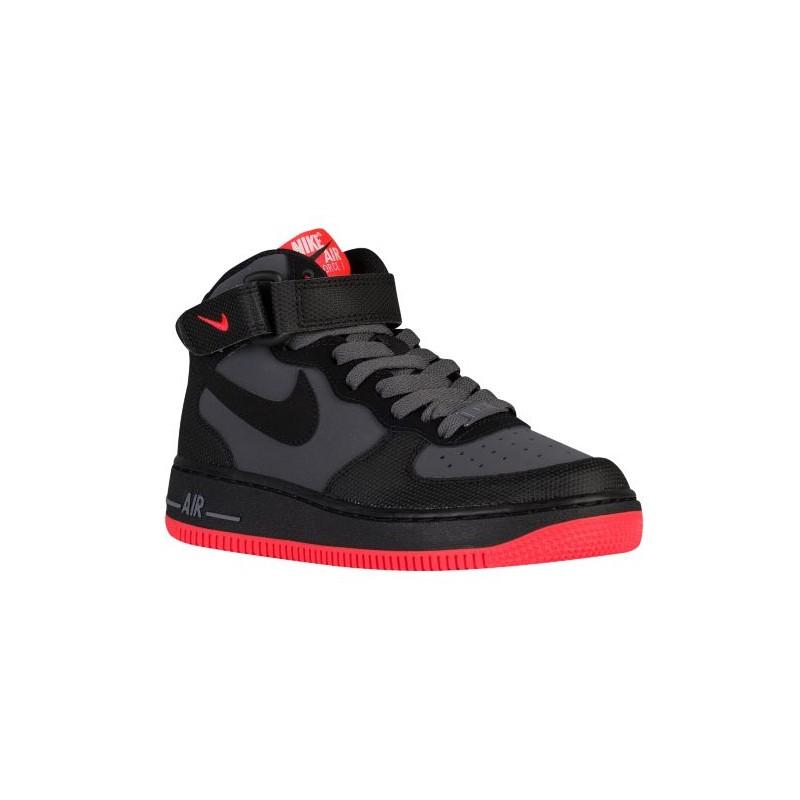 Nike Air Force 1 Mid - Boys\u0027 Grade School - Basketball - Shoes - Dark ...
