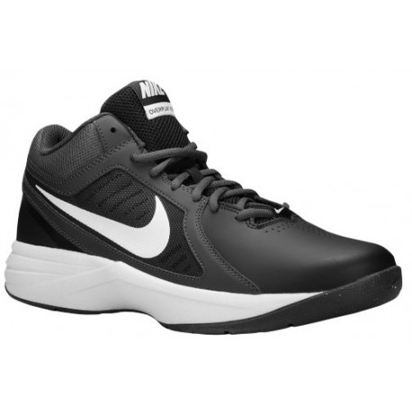 Nike Overplay VIII - Men's - Basketball - Shoes - Black/Anthracite/Dark Grey