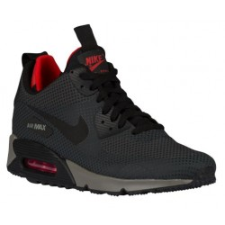 Nike Air Max 90 Mid Winter - Men's - Running - Shoes - Anthracite/Black/Challenge Red/Tumbled Grey-sku:06850006