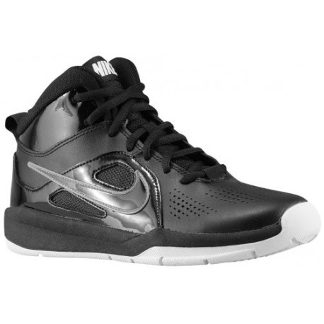 boys black nike shoes,Nike Team Hustle