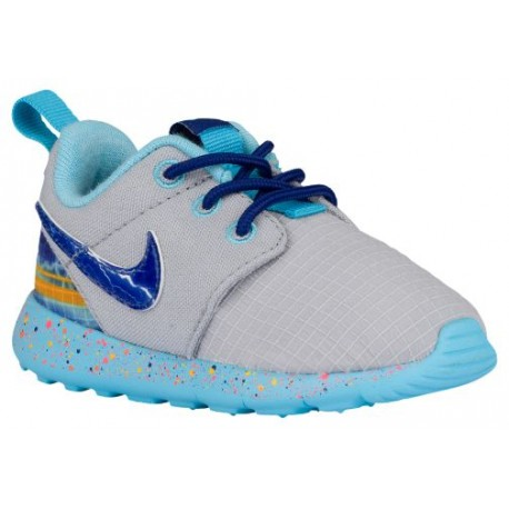reputable site 1025b 86770 youth nike shirts,Nike Roshe One - Boys  Toddler - Running - Shoes - Wolf  Grey Univ Gold Electro Orange Deep Royal Blue-sku 493