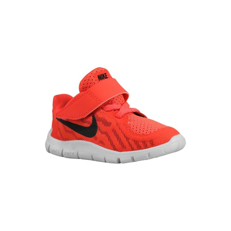 Nike Free 5.0 2015 - Boys' Toddler - Running - Shoes - Bright Crimson/ ...