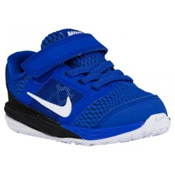 Nike Tri Fusion Run - Boys' Toddler - Running - Shoes - Game Royal/Black/Metallic Silver/White-sku:49837400