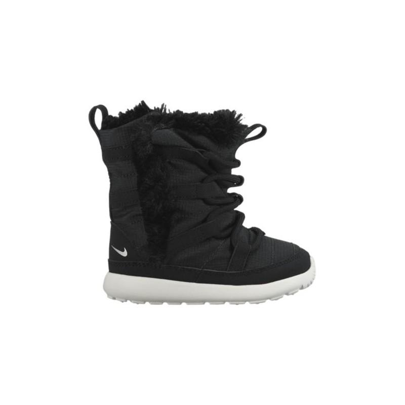release date 06895 3f932 Nike Roshe One Hi Sneakerboots - Girls' Toddler - Casual - Shoes -  Black/Metallic Silver/Summit White-sku:07741001