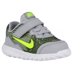 Nike Flex Experience 4 - Boys' Toddler - Running - Shoes - Wolf Grey/Dark Grey/White/Volt-sku:49814001
