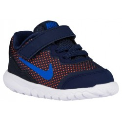 Nike Flex Experience 4 - Boys' Toddler - Running - Shoes - Midnight Navy/Dark Obsidian/Total Orange/Soar-sku:49810400
