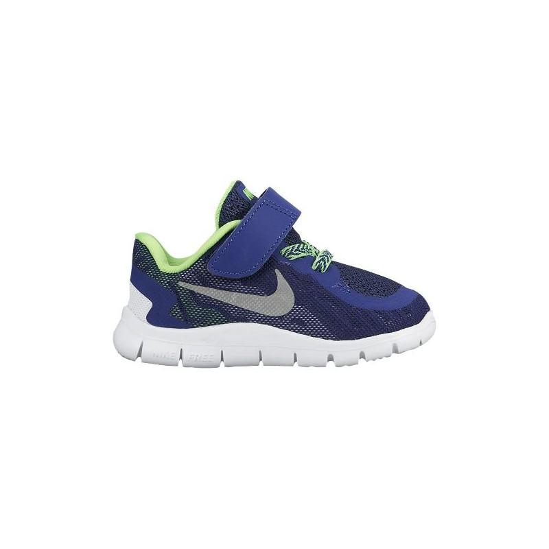 new style 23b08 0dd07 Nike Free 5.0 2015 - Boys' Toddler - Running - Shoes - Deep Royal  Blue/Metallic Silver/Green Strike/Black-sku:25107403