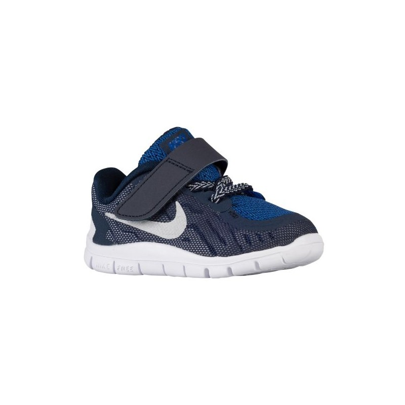 Nike Free 5.0 2015 - Boys' Toddler - Running - Shoes - Obsidian/Cool ...