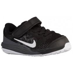 Nike Tri Fusion Run - Boys' Toddler - Running - Shoes - Black/Dark Grey/Metallic Silver/White-sku:49837001