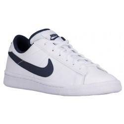 Nike Tennis Classic - Boys' Grade School - Casual - Shoes - White/Obsidian-sku:19448102