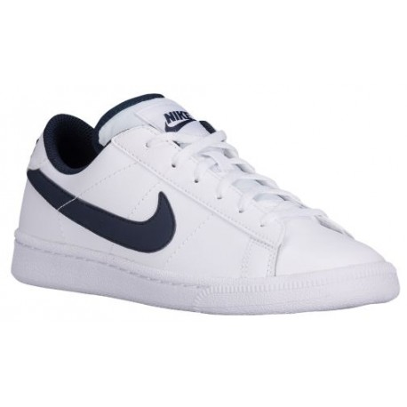 Nike Tennis Classic - Boys' Grade School - Casual - Shoes - White/Obsidian