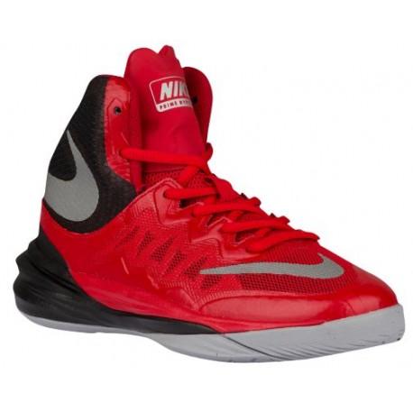 sale retailer ff7a8 d7c33 Nike Prime Hype DF II - Boys' Grade School - Basketball - Shoes -  University Red/Black/Wolf Grey/Reflect Silver-sku:07613600