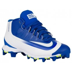 Nike Huarache  2K Filth Keystone Mid BG - Boys' Grade School - Baseball - Shoes - Game Royal/White/Volt-sku:07138417