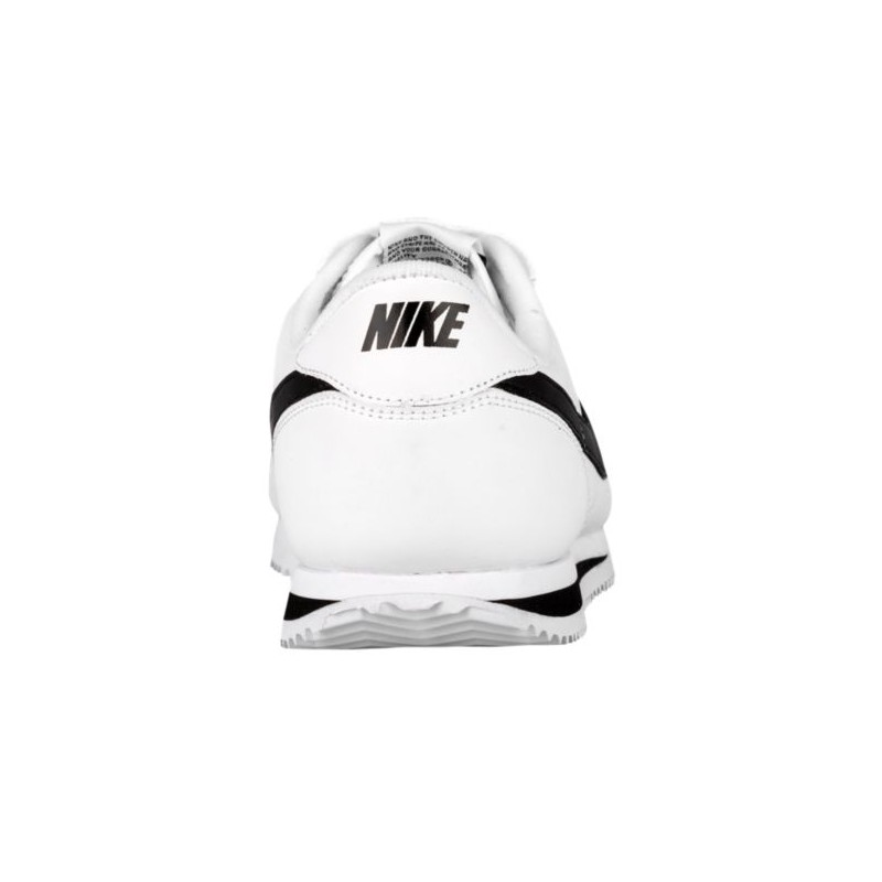 ... Nike Cortez - Men's - Running - Shoes - White/Black/Metallic Silver- ...