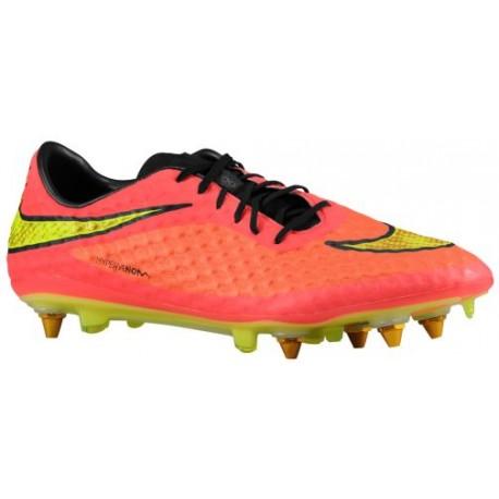 Nike Hypervenom Phantom SG Pro - Men's - Soccer - Shoes - Hyper Punch/Metallic Gold/Black-sku:99851690