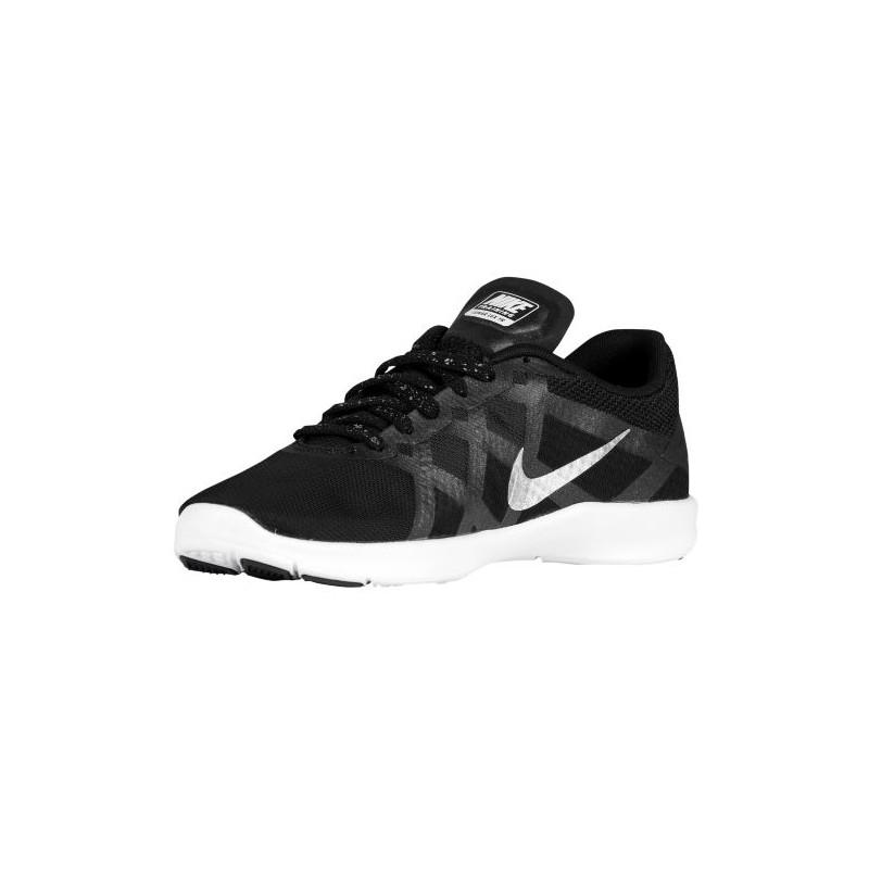 ... Nike Lunar Lux TR - Women's - Training - Shoes - Black/Metallic Silver/  ...