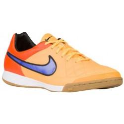 Nike Tiempo Legacy Leather IC - Men's - Soccer - Shoes - Laser Orange/Total Orange/Volt/Persian Violet-sku:31522858