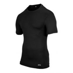 Eastbay EVAPOR Compression S/S Crew Top - Men's - Basketball - Clothing - Black-sku:6841102