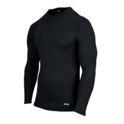 Eastbay EVAPOR Long Sleeve Compression Crew - Men's - Training - Clothing - Black-sku:6842102