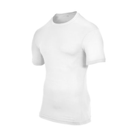 Eastbay EVAPOR Compression S/S Crew Top - Men's - Basketball - Clothing - White-sku:6841202