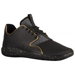 Jordan Eclipse - Men's - Basketball - Shoes - Black/Metallic Gold-sku:12303007