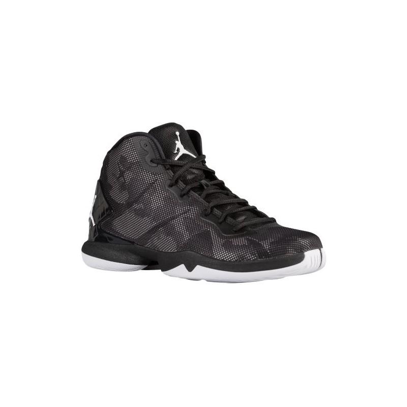84b726ca299b2a Jordan Super.Fly 4 - Men s - Basketball - Shoes - Black White  ...