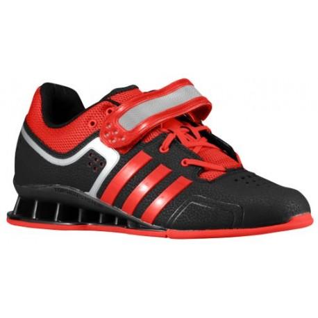 adidas Adipower Weightlift - Men's - Training - Shoes - Black/Scarlet/Tech Grey Metallic-sku: