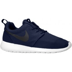 Nike Roshe One - Men's - Running - Shoes - Midnight Navy/White/Black-sku:11881405