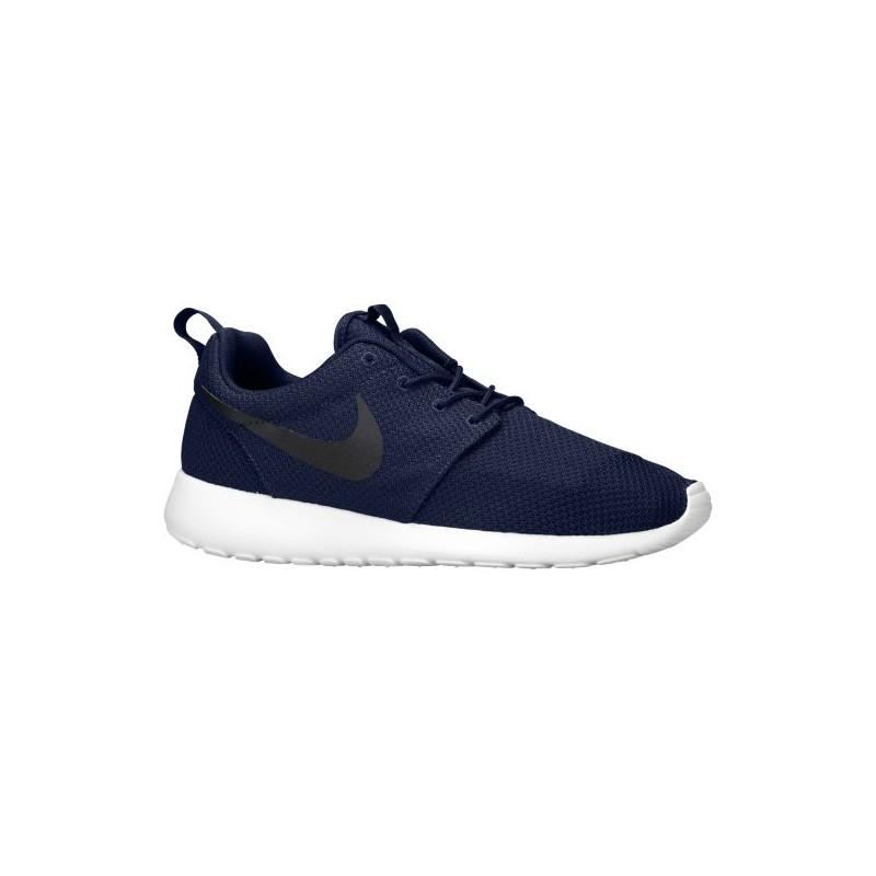 Nike Roshe One - Men's - Running - Shoes - Midnight  Navy/White/Black-sku:11881405