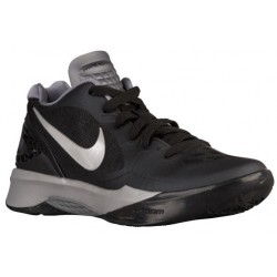 Nike Volley Zoom Hyperspike - Women's - Volleyball - Shoes - Black/White/Metallic Silver-sku:85763001