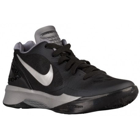 Nike Volley Zoom Hyperspike - Women's - Volleyball - Shoes - Black /White/Metallic