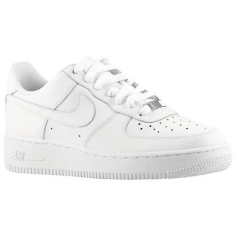 Nike Air Force 1 Low - Boys' Grade School - Basketball - Shoes - White/White-sku:21351191
