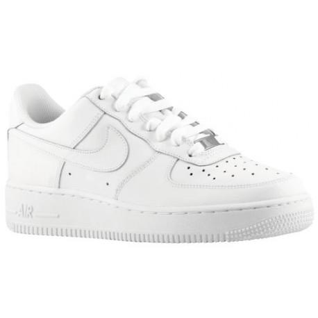 Nike Air Force 1 Low Boys' Grade School Basketball Shoes WhiteWhite sku:21351191