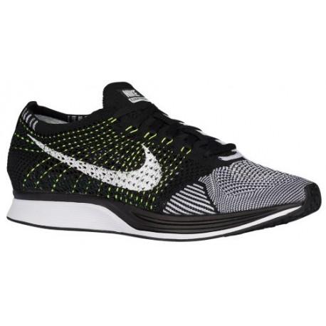 reputable site 31c03 cc01f black and white nike flyknit racer,Nike Flyknit Racer - Men s - Running -  Shoes - Black White Volt-sku 26628011