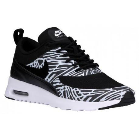 31dc6451a6 black and white nike air max thea,Nike Air Max Thea - Women's - Running -  Shoes - Black/Black/White/Metallic Silver-sku:9940801