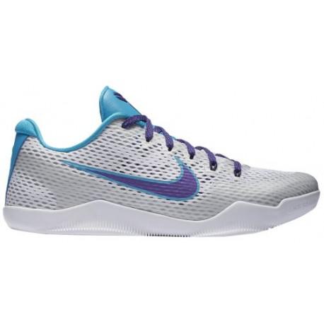 buy online ed04b 43f4d Nike Kobe 11 Low - Men's - Basketball - Shoes - Kobe Bryant - White/Court  Purple/Blue Lagoon-sku:36183154