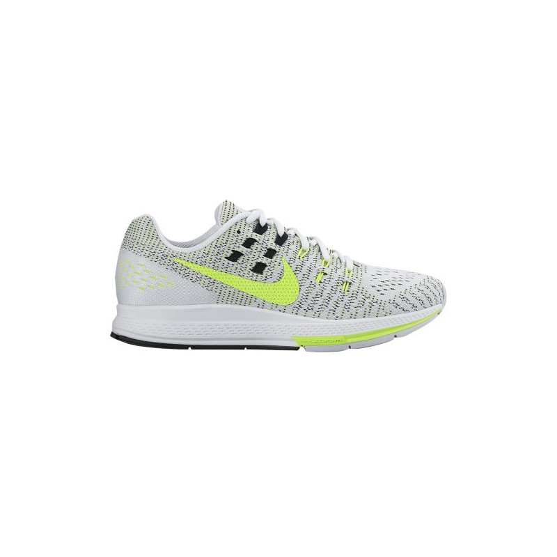 huge selection of 5f6af 1dd13 cheap black nike running shoes,Nike Air Zoom Structure 19 - Women s -  Running - Shoes - White Black Volt-sku 18966107