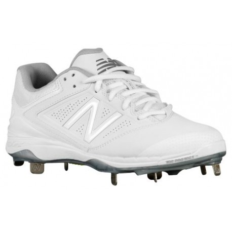 White Nike Softball Cleats New Balance 4040v1 Metal Low