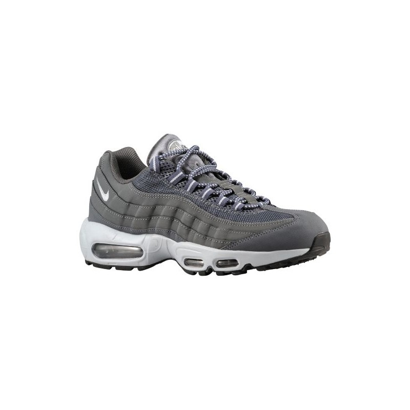 Nike Air Max 95 Men's Running Shoes Dark GreyBlackWolf Grey sku:09048088