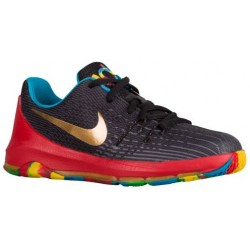 Nike KD 8 - Boys' Preschool - Basketball - Shoes - Kevin Durant - University Red/Blue Lagoon/Black/Light Crimson-sku:68868002